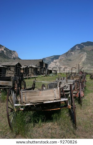 Cody Wyoming Ghost town