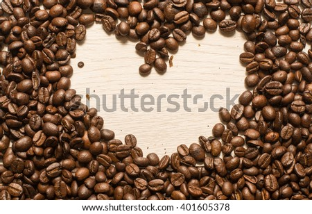 Coffe and bean