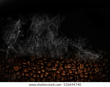 Coffe background with space for text