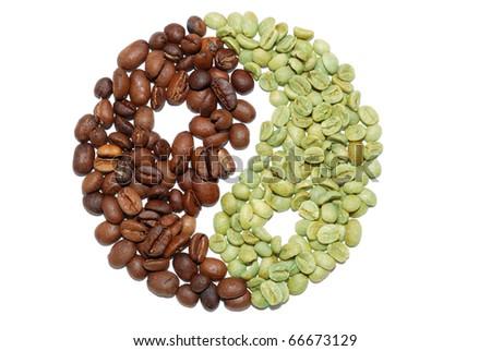Coffe bean - stock photo