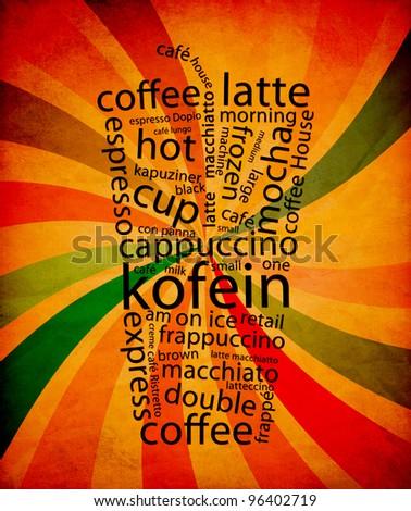 Coffe Menu - stock photo