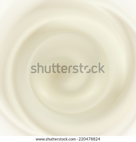 coffee and milk cream texture - stock photo