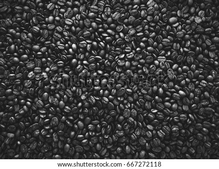 coffee bean. background texture. condensed.