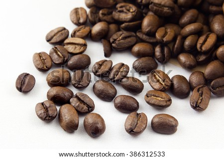coffee bean with filter paper