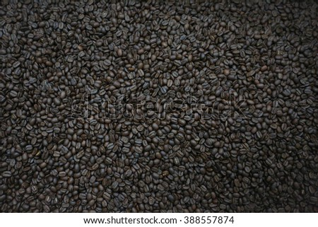 Coffee beans. Coffee Background - stock photo