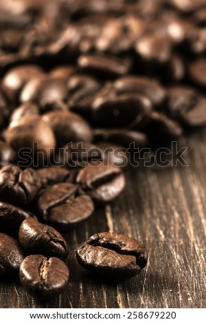 Coffee Beans./ Coffee Beans. - stock photo