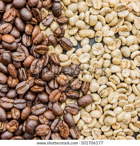 coffee beans fresh roast