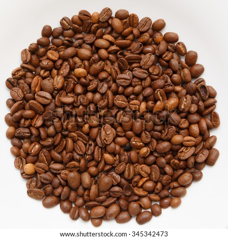 Coffee brown roasted been