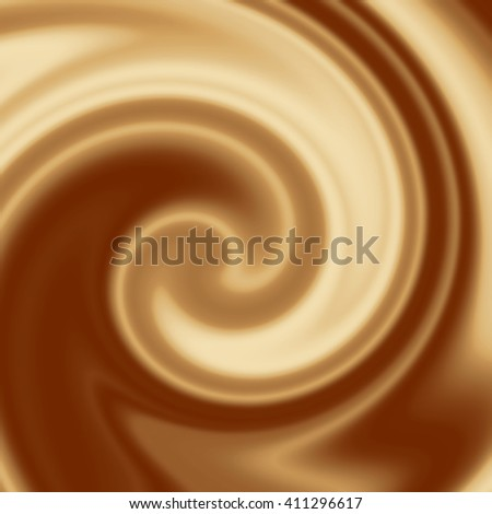 coffee cream abstract swirl background
