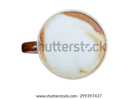 Coffee cup for fresh in morning