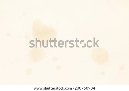coffee cup stain - stock photo