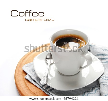 Coffee (easy to remove the text)