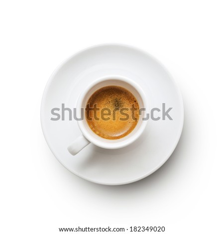 Coffee Espresso. Cup Of Coffee - stock photo