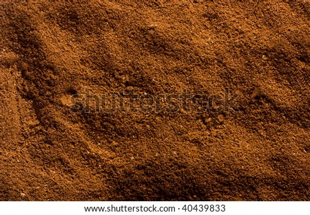 Coffee grains, can be use as background - stock photo