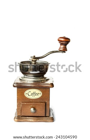 Coffee Grinder isolated on white background