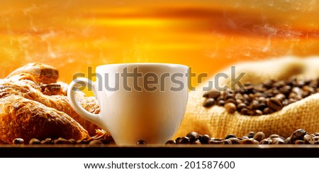coffee 'in the morning - stock photo