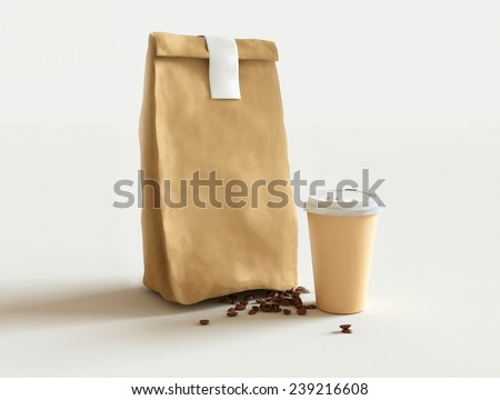 Coffee MockUp - stock photo