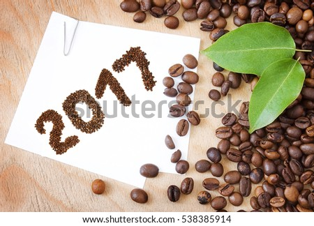 Coffee new year 2017