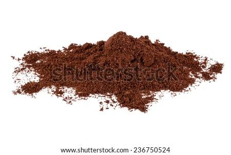 coffee powder - stock photo