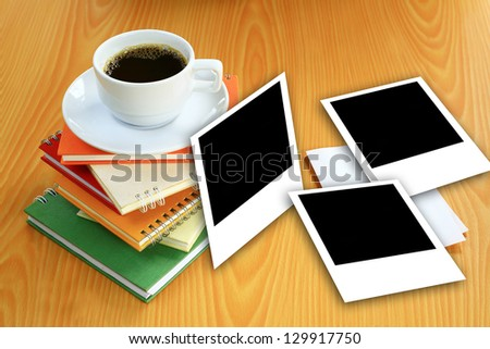 coffee remember - stock photo
