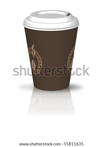 coffee to go - stock photo