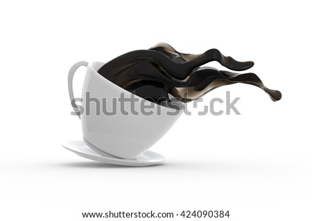 Coffee to go / 3D Rendering