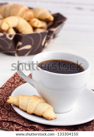 coffee with bagels