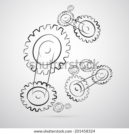 Cogs - Gears Illustration
