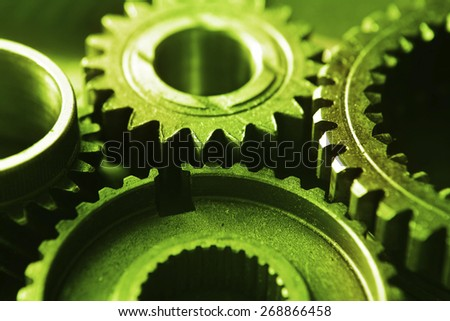 cogs or gears - stock photo