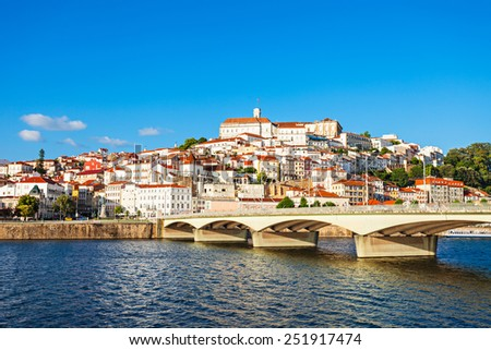 Coimbra, Portugal - stock photo