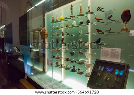 COIMBRA, PORTUGAL - JUNE 8: Museum of Science of the University of Coimbra in Portugal on June 8, 2016. Coimbra is the largest city of the district of Coimbra, the Centro region.