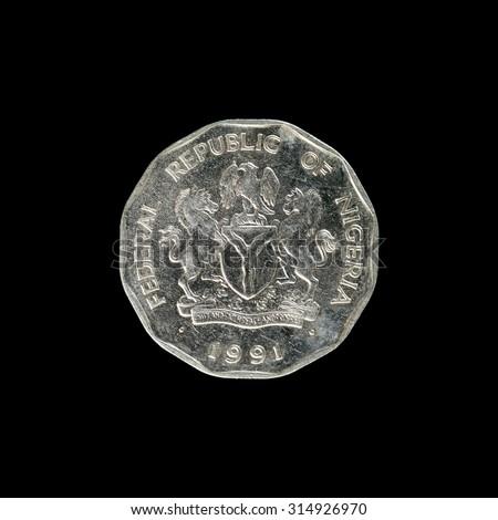 Coin Nigeria  - stock photo