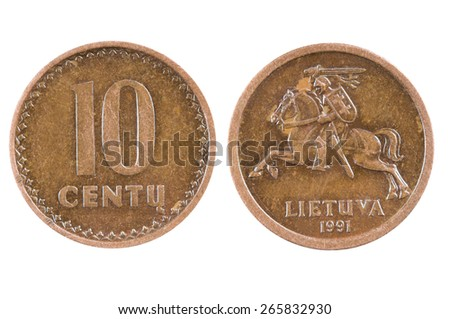 coin of Lithuania