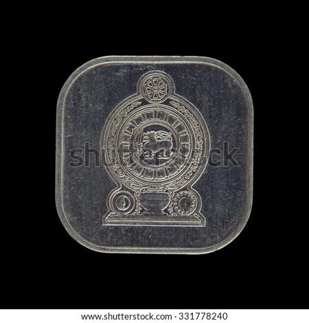 Coin Sri Lanka,  Ceylon - stock photo