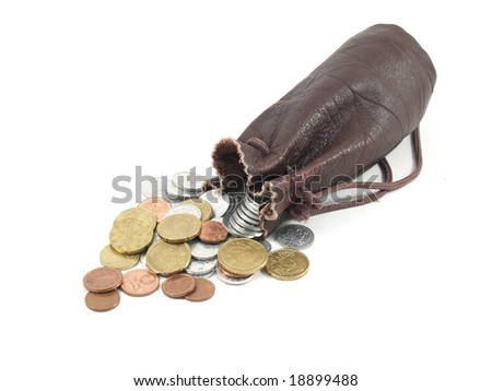 Coin with small bag