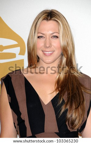 Colbie Caillat at The GRAMMY Nominations Concert Live!, Club Nokia, Los Angeles, CA.  12-02-09