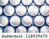 Cold and drink easy to carry the canned drinks / Drinks cans - stock photo
