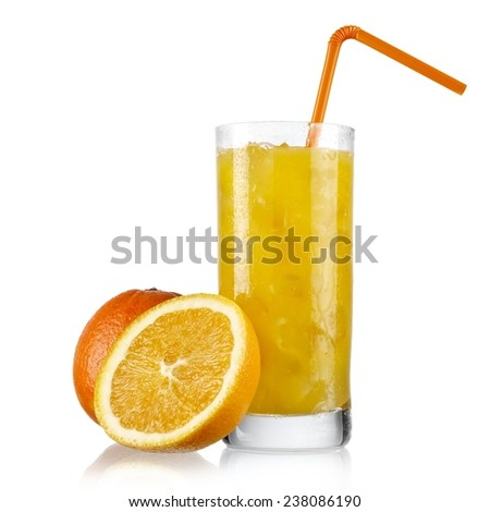 Cold orange juice