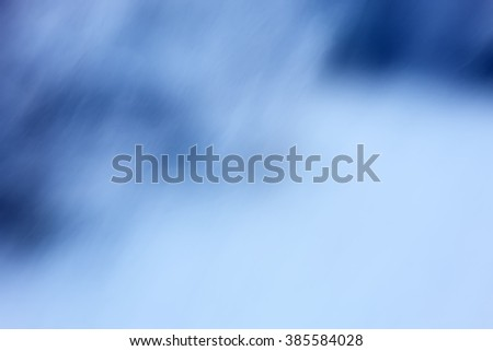 cold winter blue background, blur natural abstract, digital picture