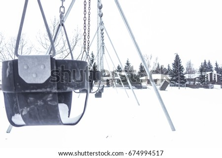 cold winter swing