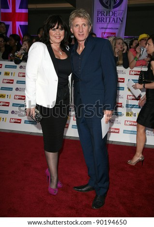 Coleen Nolan and Ray Fensome arriving for the 2011 Pride Of Britain Awards, at the Grosvenor House Hotel, London. 04/10/2011 Picture by: Alexandra Glen / Featureflash