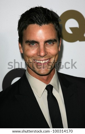 "Colin Egglesfield  at the GQ 2010 ""Men Of The Year"" Party, Chateau Marmont, West Hollywood, CA. 11-17-10"