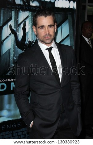 "Colin Farrell at the ""Dead Man Down"" World Premiere, Arclight, Hollywood, CA 02-26-13"