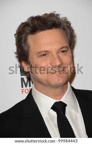 Colin Firth at AARP Ma...