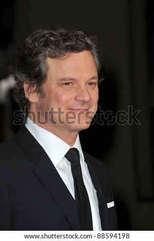 Colin Firth at the 63rd Annual Directors Guild of America Awards at the Grand Ballroom at Hollywood & Highland complex, Hollywood.. January 29, 2011  Los Angeles, CA Picture: Paul Smith / Featureflash