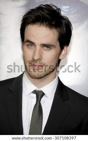 Colin O'Donoghue at the Los Angeles premiere of 'The Rite' held at the El Capitan Theater in Hollywood, USA on January 26, 2010.