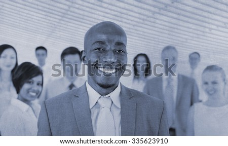 Collaboration Colleagues Corporate Cooperation Concept - stock photo