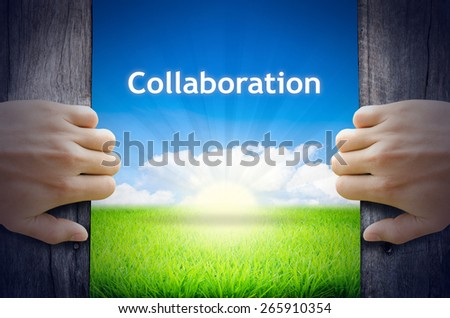 Open collaboration Stock Photos, Images, & Pictures ...