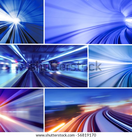 Collage of transportation concept photo. All photo belongs to me. - stock photo