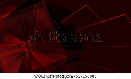 collapsing abstract glass background, illustration clip-art